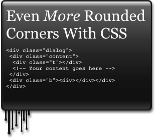 Css 3 And The Future Image Free Rounded Corners Drop
